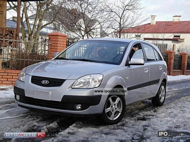 2008 Kia  Rio 1.5 CRDi AIR ASO ALU 77 tys Small Car Used vehicle photo