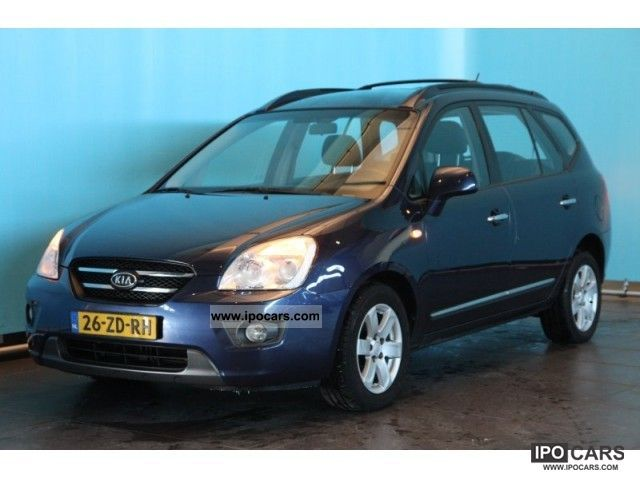 Kia  Carens 2.0CVVT X-ecutive 2008 Liquefied Petroleum Gas Cars (LPG, GPL, propane) photo
