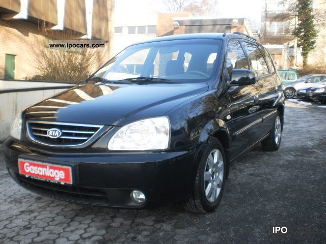 Kia  CARENS: 2lt: LPG GAS: CLIMATE: NAVI: PDC: EFH 2005 Liquefied Petroleum Gas Cars (LPG, GPL, propane) photo
