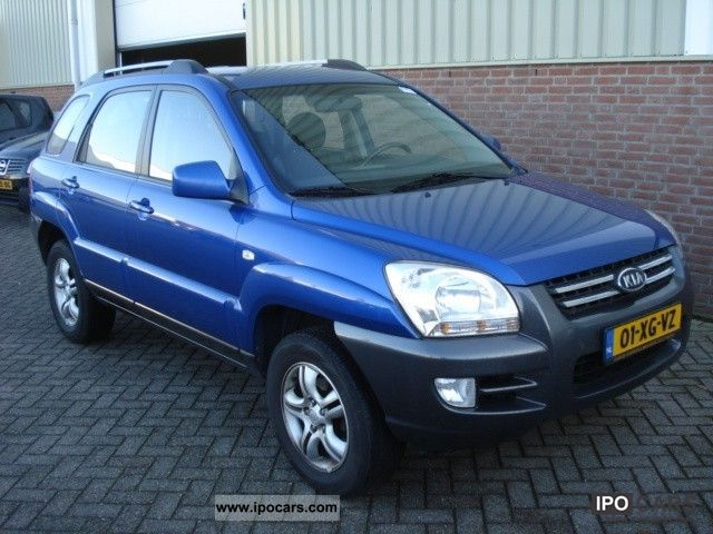 2007 Kia  Sportage 2.0 CRDi Executive Off-road Vehicle/Pickup Truck Used vehicle photo