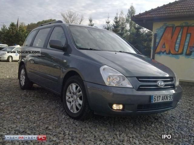 2008 Kia  Carnival 2.9 CRDI 7 OSOBOWA Van / Minibus Used vehicle photo