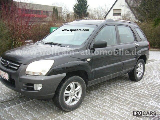 2006 Kia  Sportage 2.0 CRDi DPF EX automatic climate control, 1.Ha. Off-road Vehicle/Pickup Truck Used vehicle photo