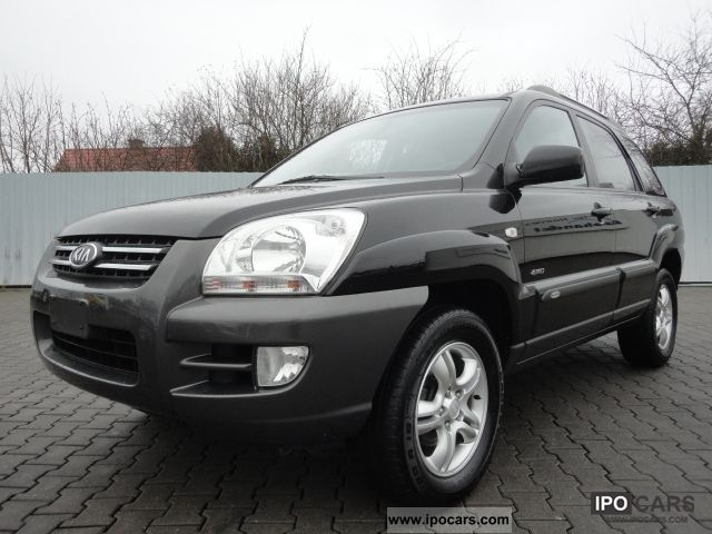 2007 Kia  Sportage 2.0 CRDi DPF 4WD Champion Air € 4 Off-road Vehicle/Pickup Truck Used vehicle photo