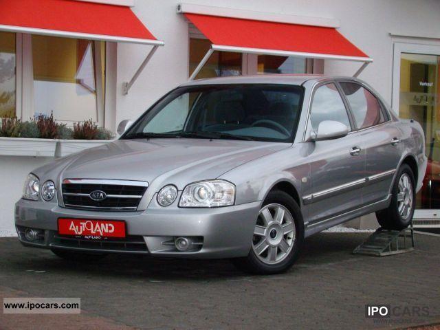 2005 Kia  Magentis 2.0i 16v automatic climate ALU 1.Hand Limousine Used vehicle photo