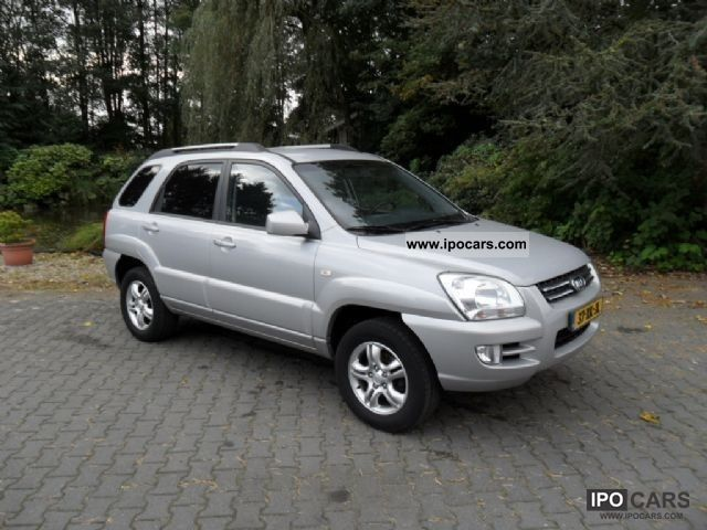 2007 Kia  Sportage 2.0cvvt x-pect Off-road Vehicle/Pickup Truck Used vehicle photo