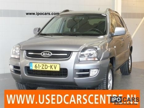 Kia  Sportage 2.0 CRDi 2WD COMFORT 2008 Liquefied Petroleum Gas Cars (LPG, GPL, propane) photo