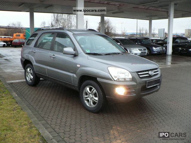 2004 Kia Sportage 4x4 2.0 Active, Air-car navigation system, aluminum ...