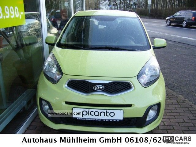 2012 Kia  Picanto 1.0 CLIMATE ACTION March 7 YEAR WARRANTY * Small Car Used vehicle photo