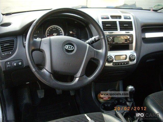 2004 Kia Sportage 2 0 Ex Wheel Leather Car Photo And Specs