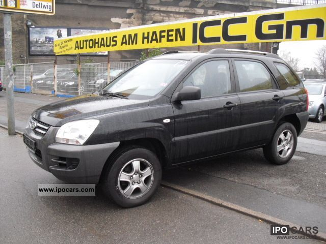 2007 Kia  SPORTAGE 2WD LX 2.0 5 SPEED WINDOW AIR EL-ALU Off-road Vehicle/Pickup Truck Used vehicle photo