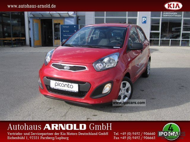2012 Kia  Picanto 1.0 Vision / climate package / Clarion radio Small Car Pre-Registration photo