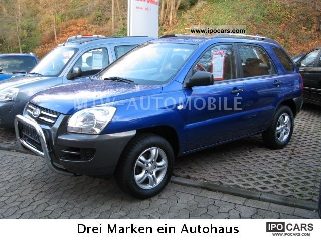 Kia  Sportage LX 2.0 2WD (LPG) gas plant 2007 Liquefied Petroleum Gas Cars (LPG, GPL, propane) photo