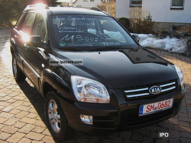 2007 Kia  Sportage LX 2.0 + AHK + aluminum wheel Off-road Vehicle/Pickup Truck Used vehicle photo