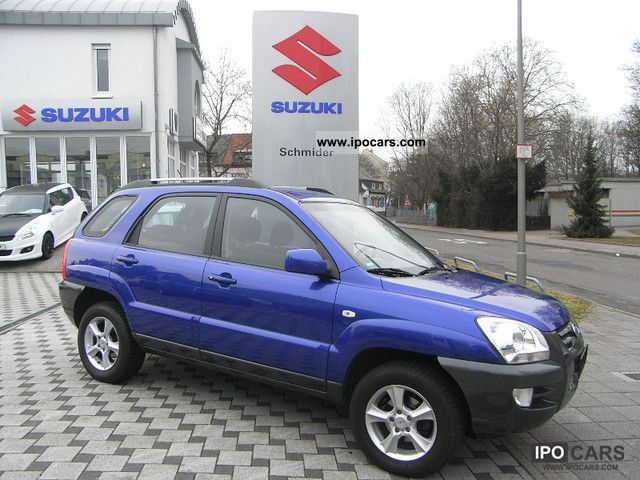 2007 Kia  Sportage 2.0 Klima/ESP/8Airbags/8-Fach frosting Off-road Vehicle/Pickup Truck Used vehicle photo
