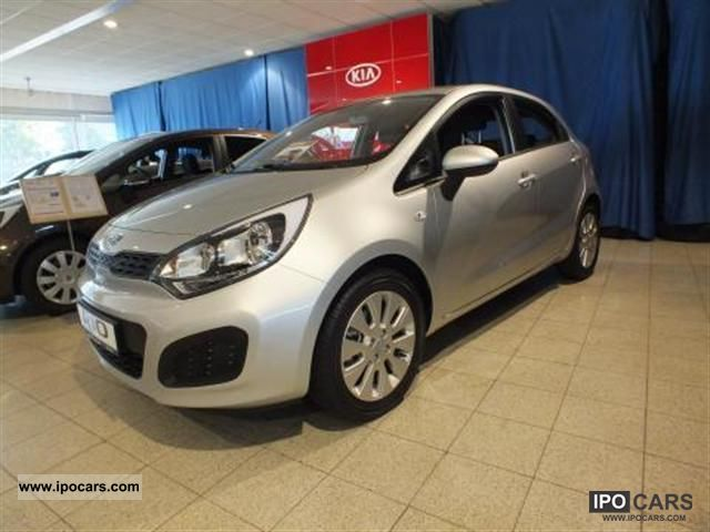 2012 Kia  Rio 1.4, a new model, air-, NW-guarantee Small Car Employee's Car photo