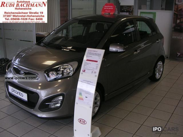 2012 Kia  Picanto 1.0 Spirit comfort package Small Car Used vehicle photo