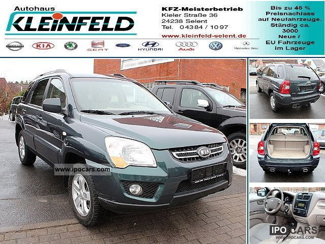 Kia  Sportage 2.0 4WD * LPG GAS * wheel * AHK * 2009 Liquefied Petroleum Gas Cars (LPG, GPL, propane) photo