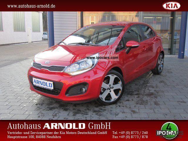 2012 Kia  Rio 1.4 CRDi technology Einparkh Spirit. Sitzh. PTS Small Car Pre-Registration photo