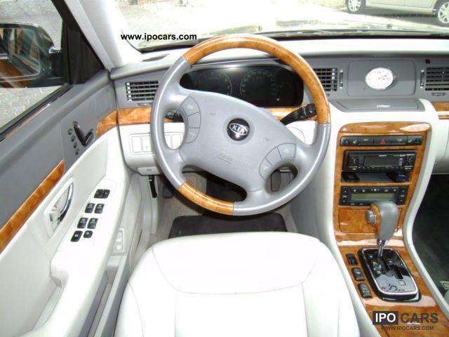 Opirus 2006 Interior 2006 Kia Opirus Limousine