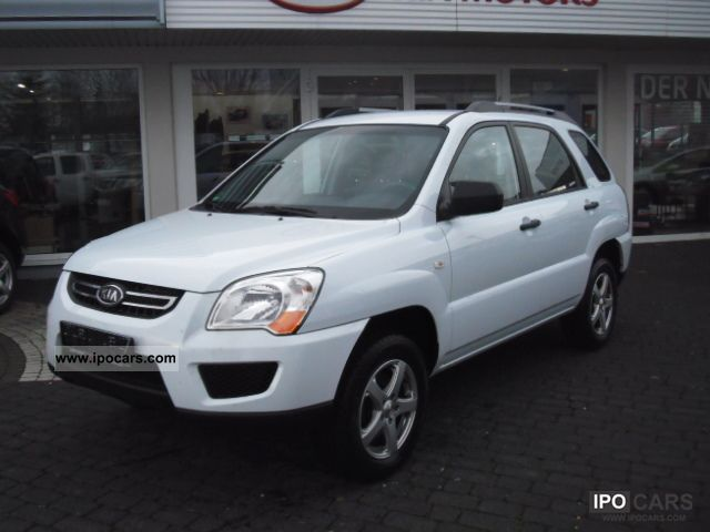 2009 Kia  2WD Sportage 2.0 Attract 8x frosted on aluminum Off-road Vehicle/Pickup Truck Used vehicle photo