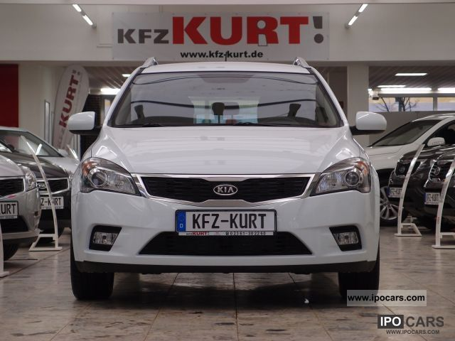Kia  Cee'd Sporty Wagon 1.4 CVVT Auto LPG Edition7 FÜ 2012 Liquefied Petroleum Gas Cars (LPG, GPL, propane) photo