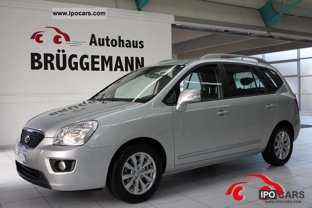 2010 Kia  Carens 1.6 CRDI Spirit 7 years Herstellergaranti Van / Minibus Used vehicle photo