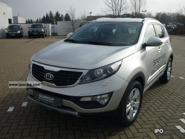 2012 Kia  Sportage 2.0 CRDI Vision (VFW Technology Package) Off-road Vehicle/Pickup Truck Demonstration Vehicle photo