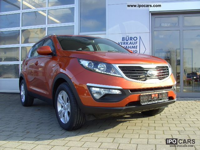 2012 Kia  Sportage 2.0 CRDi 4WD Spirit stock Off-road Vehicle/Pickup Truck Used vehicle photo