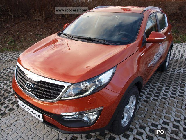 2012 Kia  Sportage 2.0 CRDi 4WD Vision Off-road Vehicle/Pickup Truck Demonstration Vehicle photo