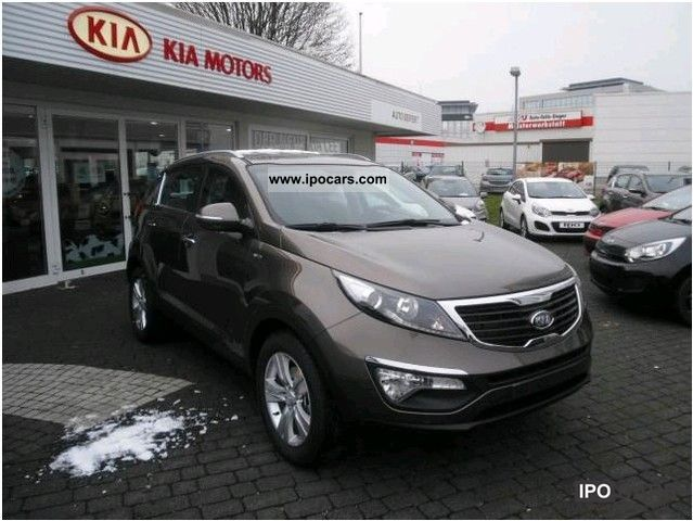 2012 Kia  Sportage 2.0 CRDi 4WD Aut. Vision with extras Off-road Vehicle/Pickup Truck Pre-Registration photo