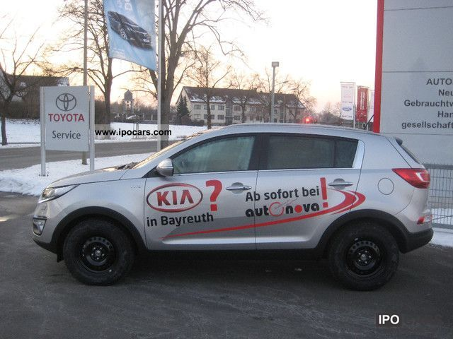 2012 Kia  Sportage 2.0 CRDi 4WD Automatic Spirit Vision Off-road Vehicle/Pickup Truck Demonstration Vehicle photo