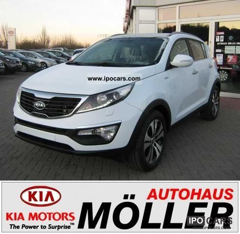 2012 Kia  Sportage 2.0 CRDi 4WD Automatic Spirit Leather + Dac Off-road Vehicle/Pickup Truck New vehicle photo