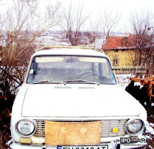 Lada  1200 1971 Compressed Natural Gas Cars (CNG, methane, CH4) photo