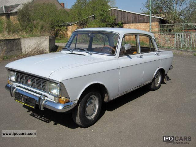 1975 Lada  Moskvich 408 i.e. Original paint Moskvich GAZ Limousine Used vehicle photo