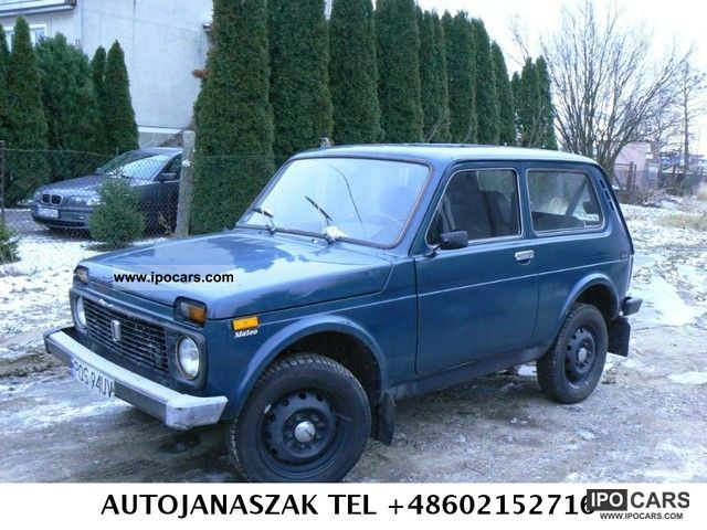 Lada  Niva 4x4 LPG 2000 Liquefied Petroleum Gas Cars (LPG, GPL, propane) photo