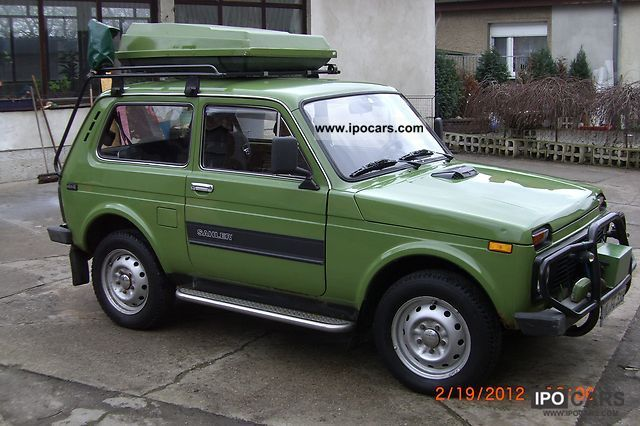 1997 lada niva d car photo and specs. Black Bedroom Furniture Sets. Home Design Ideas