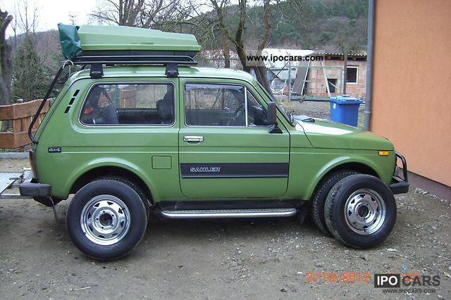 1997 Lada Niva D Car Photo And Specs