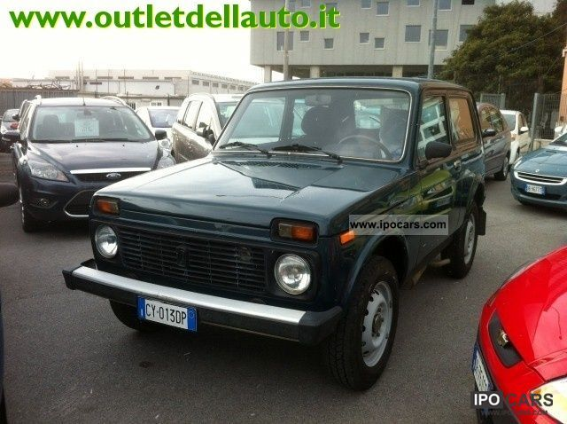 Lada  Niva 1.7 MPi cat dual fuel GPL 2005 Liquefied Petroleum Gas Cars (LPG, GPL, propane) photo