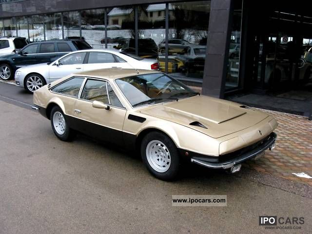 Lamborghini  Jarama GTS 1974 Vintage, Classic and Old Cars photo