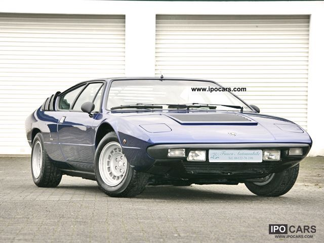 Lamborghini  Urraco 1978 Vintage, Classic and Old Cars photo