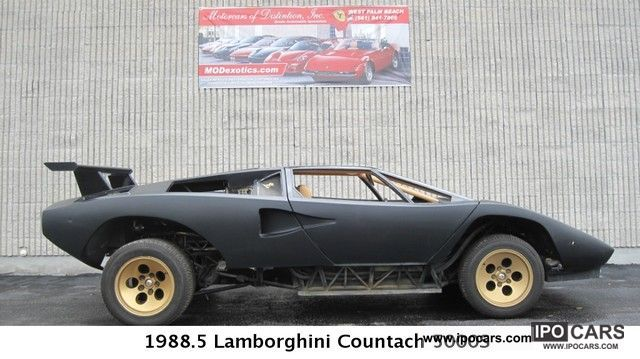 1988 Lamborghini  Countach Sports car/Coupe Used vehicle photo