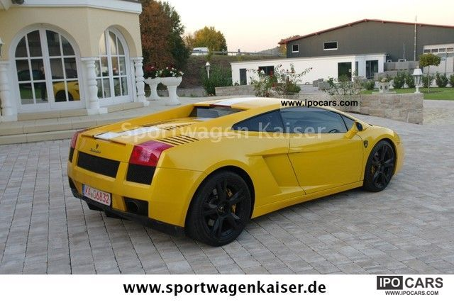 2004 Lamborghini Gallardo E Gear Yellow Leather Deals