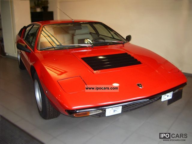 Lamborghini  Urraco P300 1975 Vintage, Classic and Old Cars photo