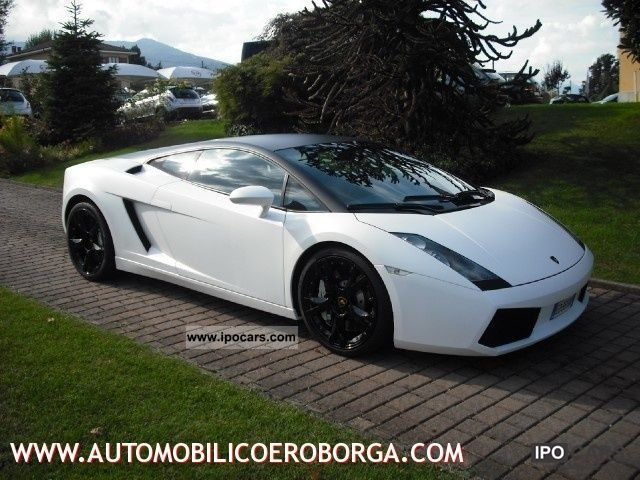 2004 Lamborghini Gallardo 5 0 V10 Coupe E Gear Car Photo And Specs