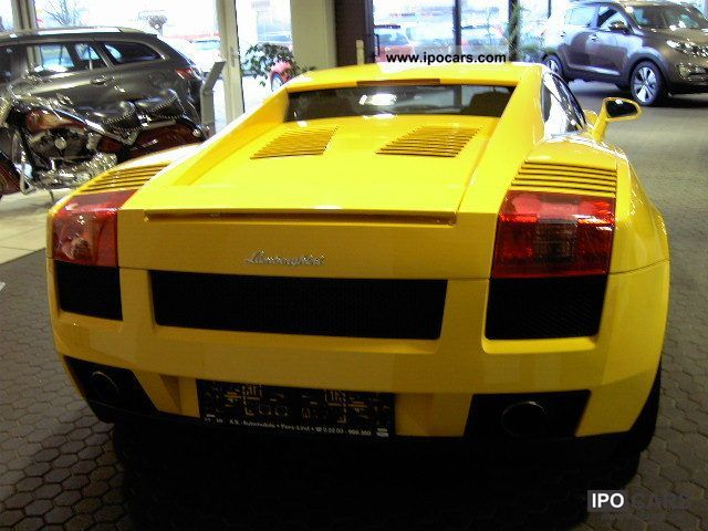 2004 Lamborghini Gallardo Car Photo And Specs