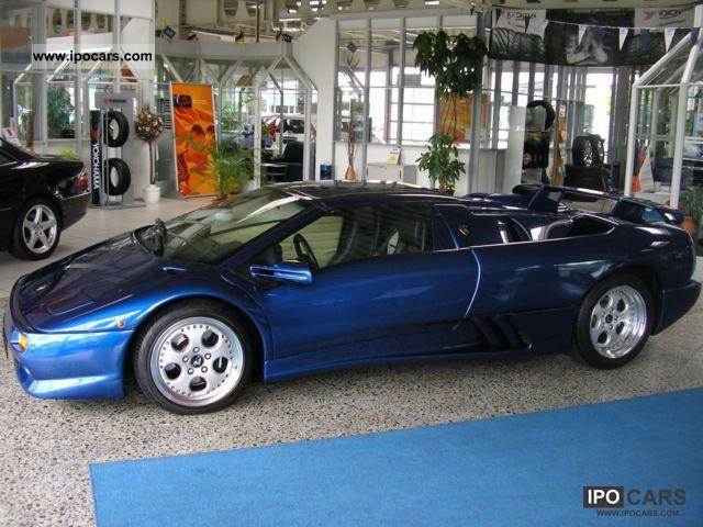 1998 Lamborghini  Diablo VT Roadster Cabrio / roadster Used vehicle photo