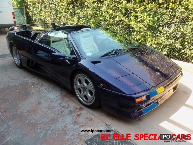 1998 Lamborghini  Diablo Roadster VT 4X4 Cabrio / roadster Used vehicle photo