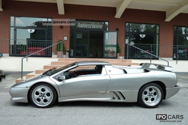 1997 Lamborghini Diablo Vt Roadster Car Photo And Specs