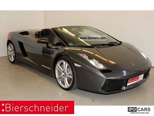 2011 Lamborghini  Gallardo Spyder E-Gear - NAVI XENON LEATHER Cabrio / roadster Used vehicle photo