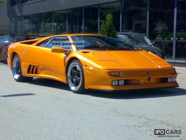 1999 Lamborghini Diablo Sv C Versace Car Photo And Specs